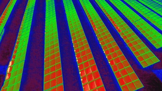 Ideales Wetter zur Inspektion der Photovoltaikanlage